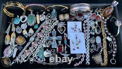 100 Gram Wholesale Lot Resell Sterling Silver 925 Jewelry All Wearable No Scrap