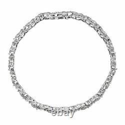 1/4 ct Diamond Tennis Bracelet in Sterling Silver, 7