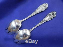 1 Reed & Barton Love Disarmed Sterling Silver Ice Cream Spoon Nearly New