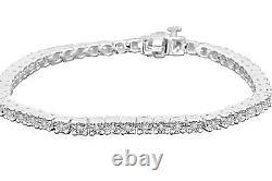 30 Ct Men Women Sterling Silver Real Diamond Fanook 1 Row Link Tennis Bracelet