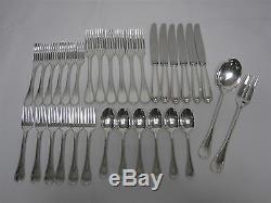 32 Pcs Christofle France 925 Sterling Silver Perles Flatware