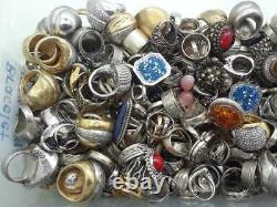 50 Gram Assorted Sterling Silver 925 Ring Lot Wholesale Resale Vintage Now