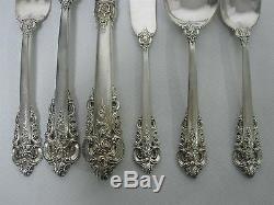 54 Pcs Wallace Grande Baroque Sterling Silver Flatware