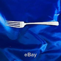 57 Pieces Lovely Towle Sterling Silver Craftsman Flatware Service for 8 & More