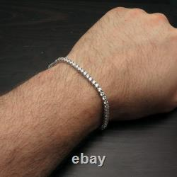 6.00TCW Round Cut Created Diamond 7.25 Tennis Bracelet 925 Sterling Silver