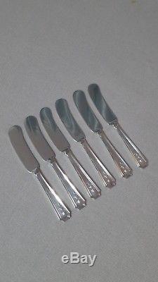 73 Piece Fairfax by Gorham Sterling Silver Flatware Set Service for 12 110oz