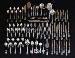 83-Pc. Set Reed & Barton Francis I Sterling Silver Incl. 8x 4-Pc. Place Settings
