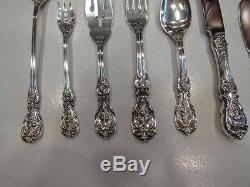 86 Pcs FRANCIS 1 REED & BARTON -Sterling Silver Flatware set & Serving Pcs