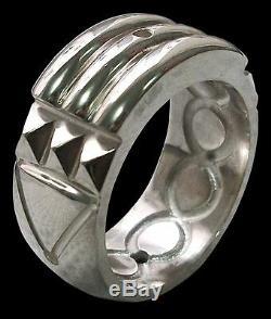 925 Sterling Silver Atlantis Ring Anillo Atlante Shiny Finish All Sizes