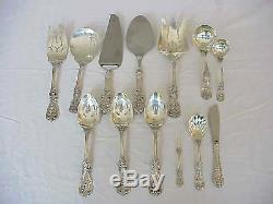 97pc Reed & Barton FRANCIS I Sterling Silver Flatware