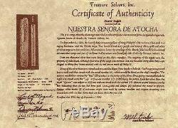 ATOCHA Coin Ring 925 Sterling Silver Sunken Treasure Shipwreck Jewelry