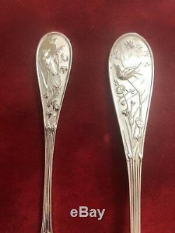 Audubon by Tiffany & Co Sterling Silver Flatware Service Set Birds (407g)