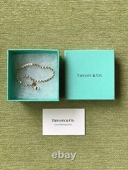 Auth Tiffany & Co. Venetian Link Bracelet Sterling Silver 925 withBOX DHL