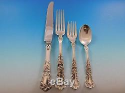Buttercup by Gorham Sterling Silver Flatware Set for 8 Service 37 Pieces Dinner