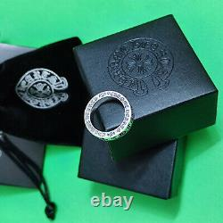 CHROME HEARTS 925 Sterling Silver Forever Ring Sizes 7
