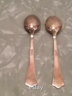 DAVID ANDERSEN NORWAY 925S STERLING ENAMEL 6 demitasse spoons Norwegian Radhus