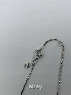 DAVID YURMAN Sterling Silver 925 Chatelaine Pendant Necklace With Peridot