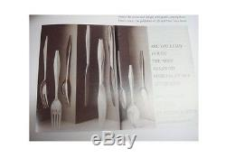 Diamond by Reed and Barton Sterling Silver Flatware Service Set 28 Pcs Gio Ponti
