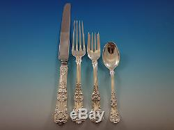 English King by Tiffany and Co Sterling Silver Flatware Set for 12 72 pc Dinner