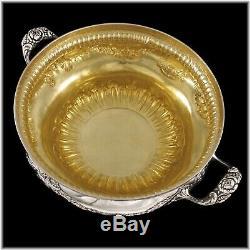 FAMECHON 18th century French Louis XVI Sterling Silver Vermeil Soup Tureen
