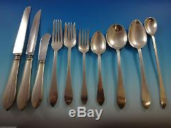 Faneuil by Tiffany & Co. Sterling Silver Flatware Set For 8 Service 83 Pieces