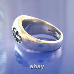 French Foreign Legion-Soldier Of Fortune-Mercenary Ring Solid Sterling Silver