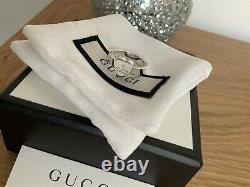 Genuine Stunning Gucci Ladies Heart Sterling Silver Heart Ring In Box Size 14