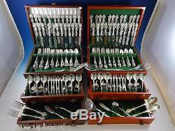 George & Martha by Westmorland Sterling Silver Flatware Set 48 Service 300 Pcs