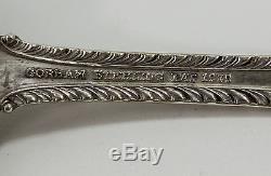 Gorham English Gadroon 140 Piece Sterling Silver Flatware Set 6347 Grams