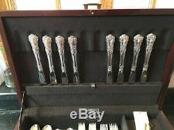 Gorham Sterling Silver Buttercup Flatware Set 8 Settings, 5 pc Each NO MONO