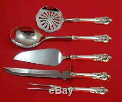 Grande Baroque Wallace Sterling Silver Thanksgiving Holiday Serving Set Custom