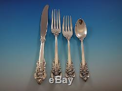 Grande Baroque by Wallace Sterling Silver Flatware Set for 48 Service 303 Pcs