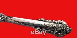 Grande Baroque by Wallace Sterling Silver Steak Knife HH Custom 8 1/2 Serrated