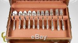International Sterling Royal Danish Sterling Silver Flatware Set 80 Pieces