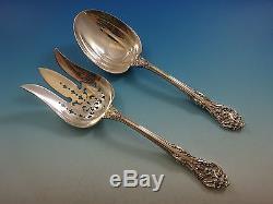 King Edward by Gorham Sterling Silver Flatware Set For 12 Service 69 Pcs Dinner
