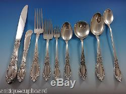 King Richard by Towle Sterling Silver Dinner Flatware Set 18 Service 175 Pieces