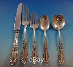 King Richard by Towle Sterling Silver Flatware Set For 8 Service 40 Pieces