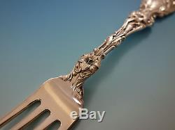 Lily by Whiting Sterling Silver Flatware Set for 12 Service 125 pcs Dinner Old