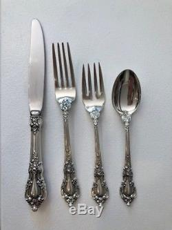 Lunt Eloquence Sterling Silver Four Piece Dinner Setting (2 avail)