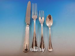 Milano by Buccellati Italy Sterling Silver Flatware Set Service 73 Pieces Dinner
