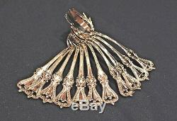 Old Colonial By Towle Sterling Flatware Set 6 Ice Cream Forks Not Monogrammed