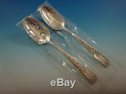 Old Maryland Engraved by Kirk Sterling Silver Flatware Set 8 Service 38 Pieces