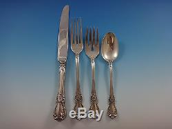 Old Master by Towle Sterling Silver Flatware Set For 12 Service 79 Pieces