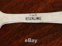 - Palmer & Peckham Pierced Rim Victorian Sterling Silver Tea Strainer 18941902