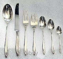 Prelude by International sterling silver flatware for 8 76 pc. $1800+ Scrap