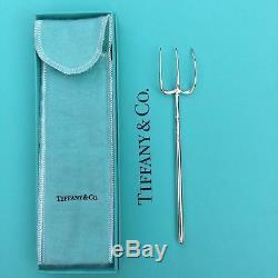 Rare TIFFANY & Co. Pitchfork novelty Serving Fork sterling silver Asprey Cartier