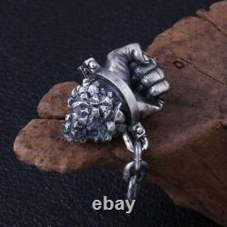 Real 925 Sterling Silver Pendant Destiny Hercules's Fist Jewelry