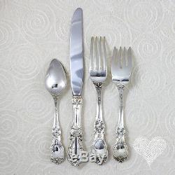 Reed & Barton BURGUNDY Vintage Sterling Silver Place Set 189-1
