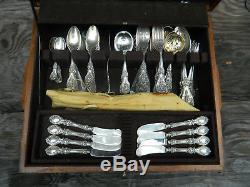 Reed & Barton FRANCIS I Sterling Silver Flatware Set No Monograms Old Mark