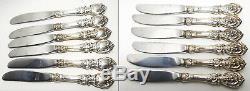 Reed & Barton FRANCIS I Sterling Silver Silverware Set 45 PIECES! No Monograms